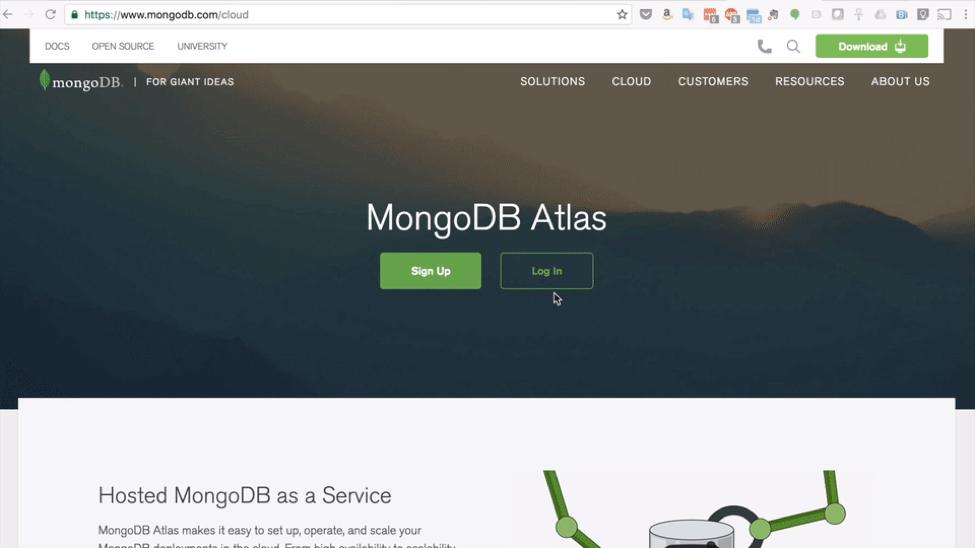 Create MongoDB Atlas Cluster