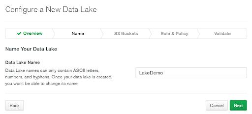 Name Your Data Lake