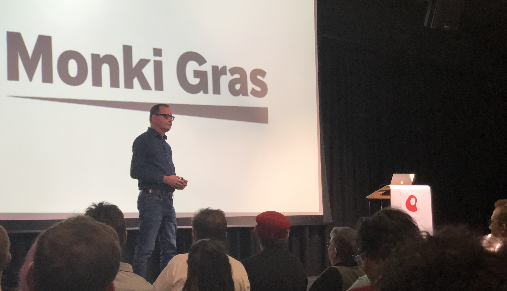 Joe Drumgoole talks 'Delays and Deficits' at Monkigras 2019
