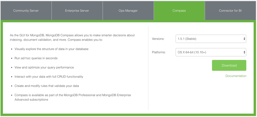 MongoDB Download Center