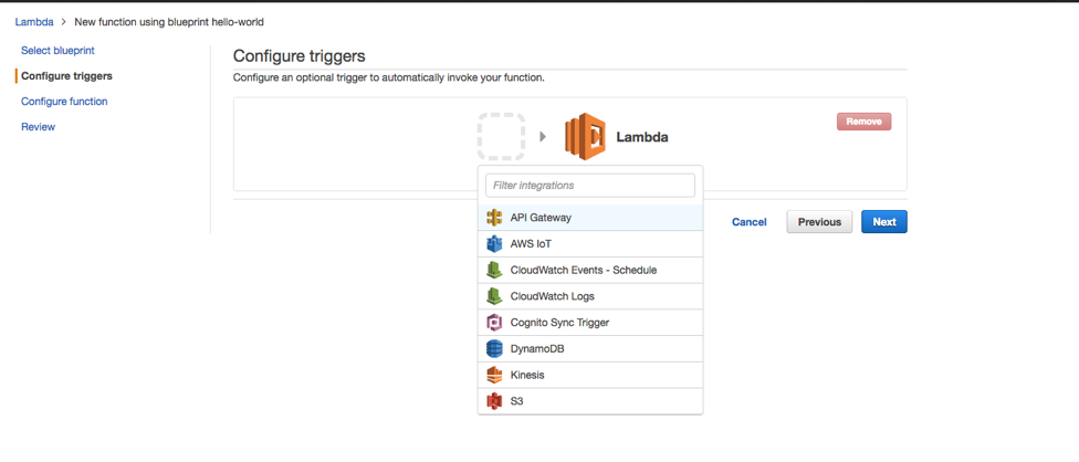 Developing a Facebook Chatbot with AWS Lambda and MongoDB Atlas