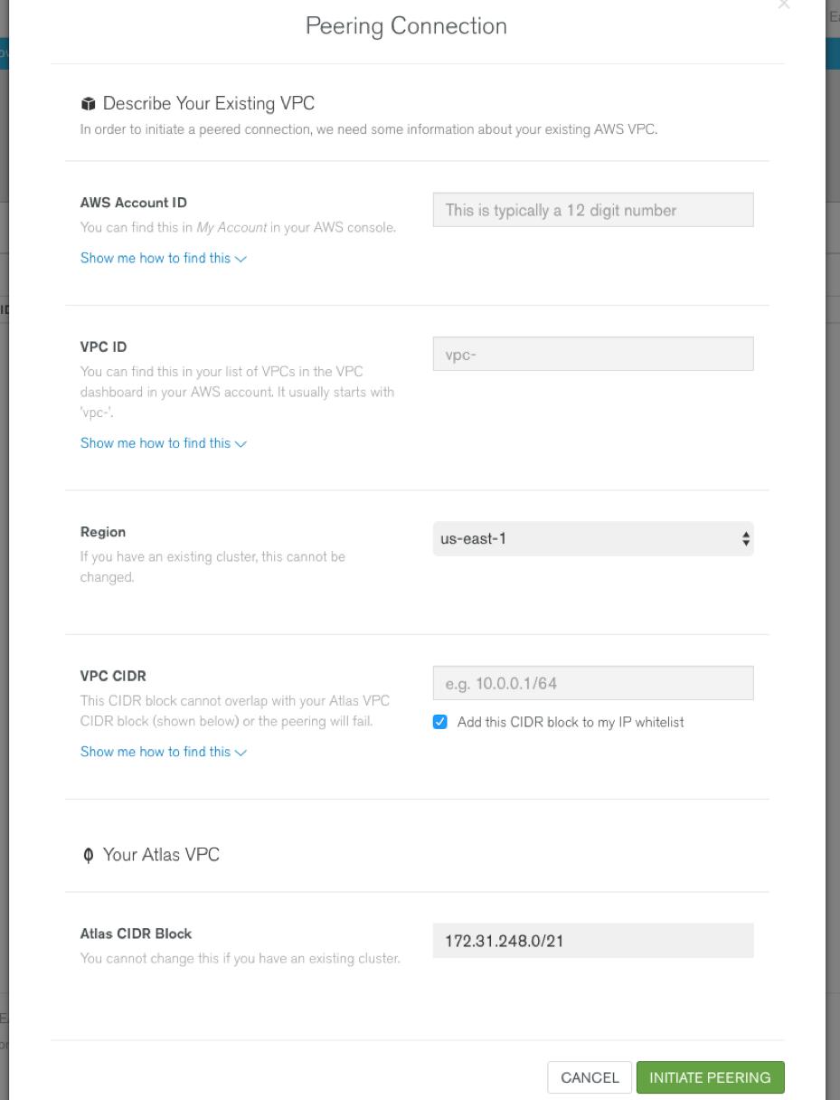 Introducing VPC Peering for MongoDB Atlas | MongoDB