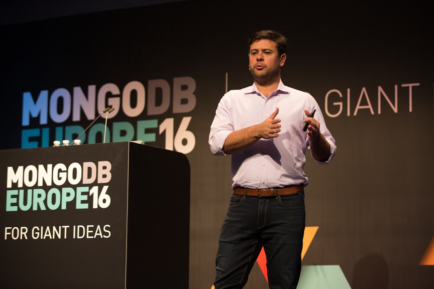 Eliot presents at MongoDB Europe
