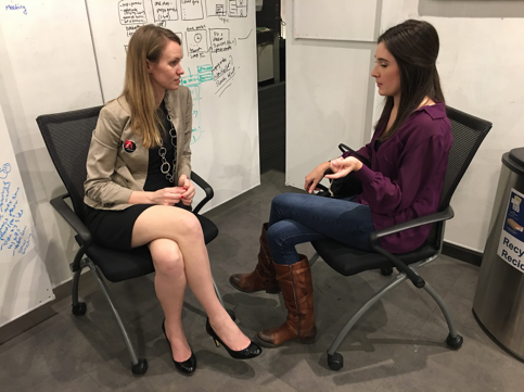 MongoDB Power Heels interviews with attendees