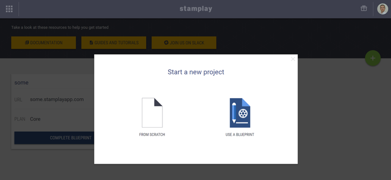 Sample Atlas cluster deployment blue with Slack notification