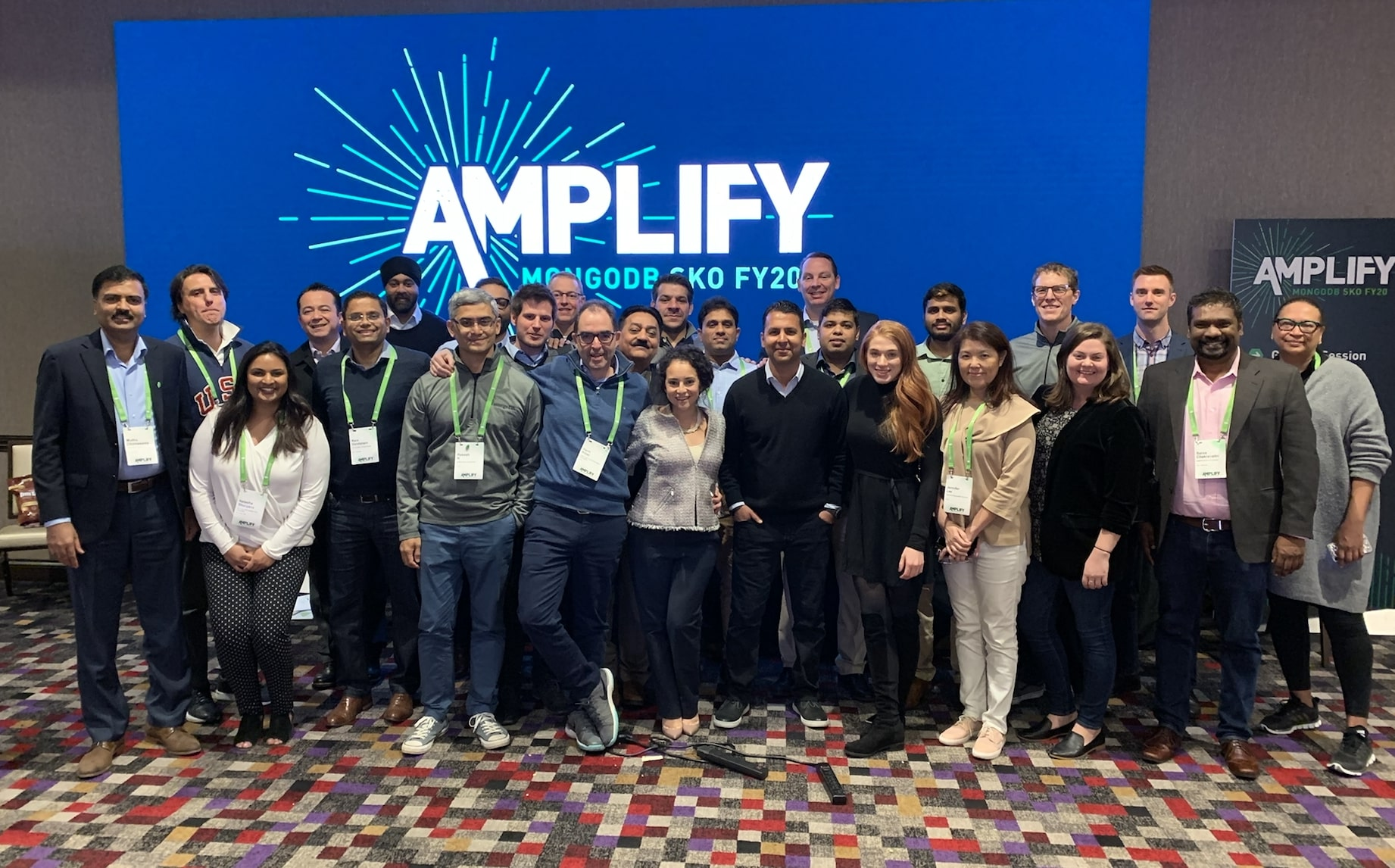 Our Partner team at Sales Kickoff in Las Vegas, February 2019