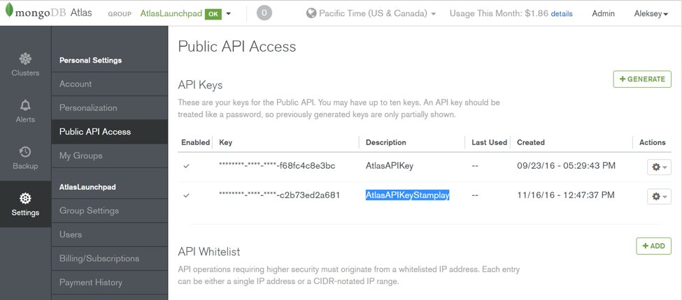 Configure API Access