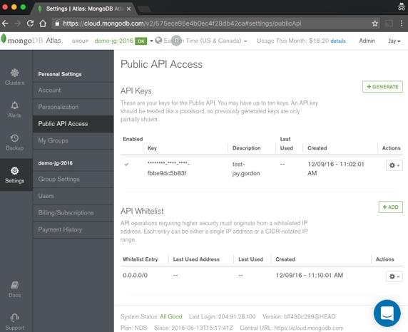 Public API Access