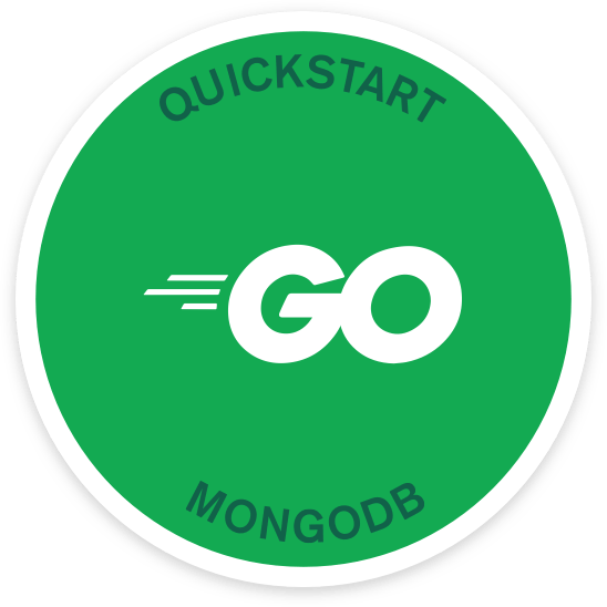 Quick Start Go and MongoDB