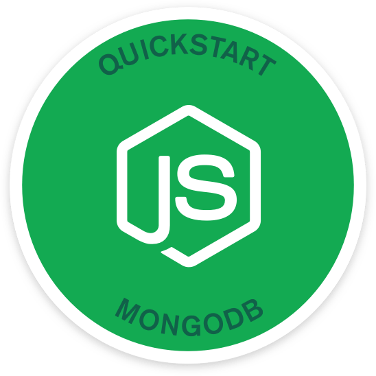 Quick Start Node.js and MongoDB