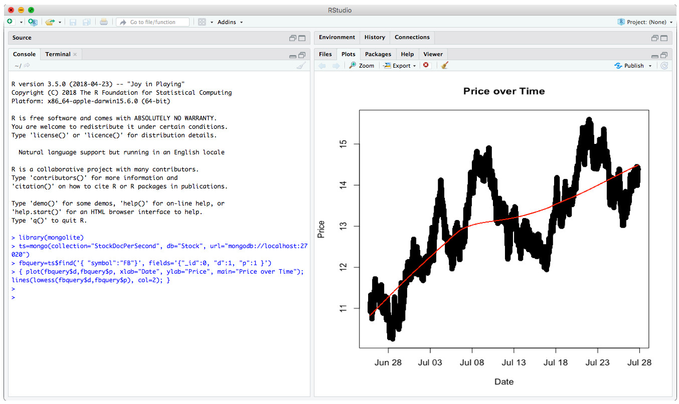 Time Series Data and MongoDB: Part 3 – Querying, Analyzing