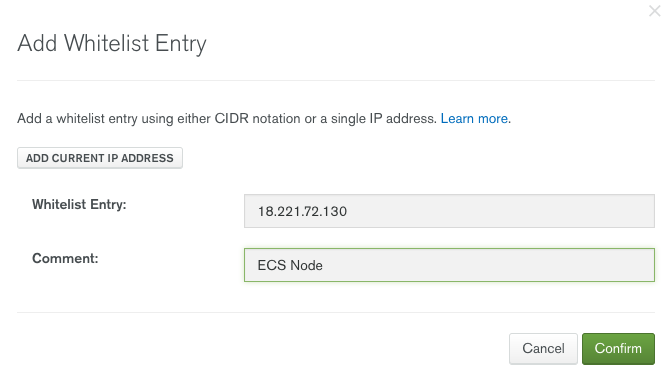 Building a NodeJS App with MongoDB Atlas and AWS Elastic Container