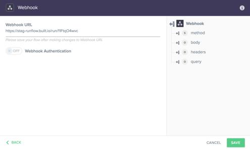 Testing Built.io workflow