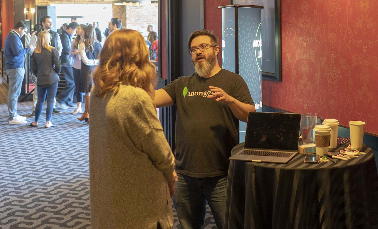 MongoDB experts provide attendees with personalized advice specific to the challenges they are facing.