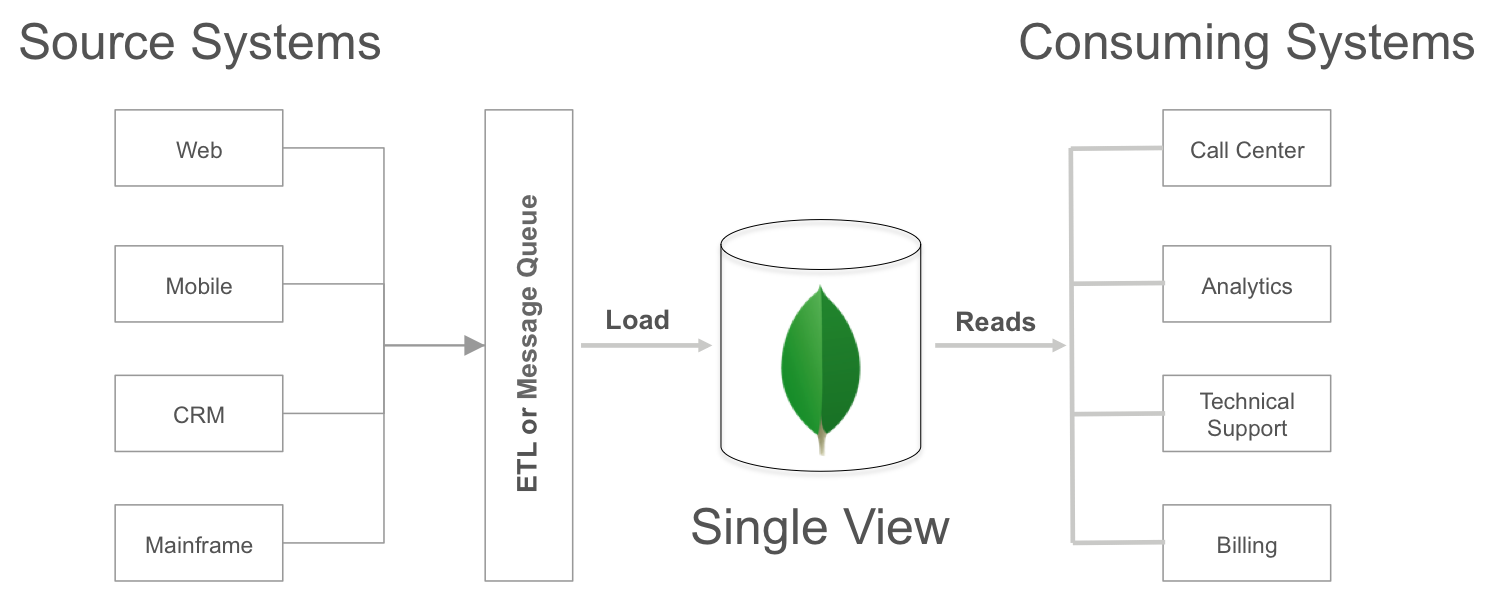 Architecture of single view platform
