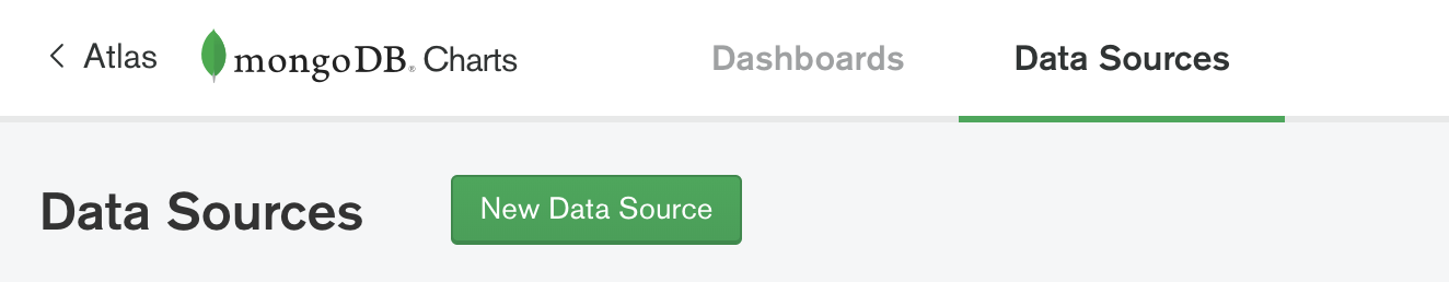 The Data Source Button