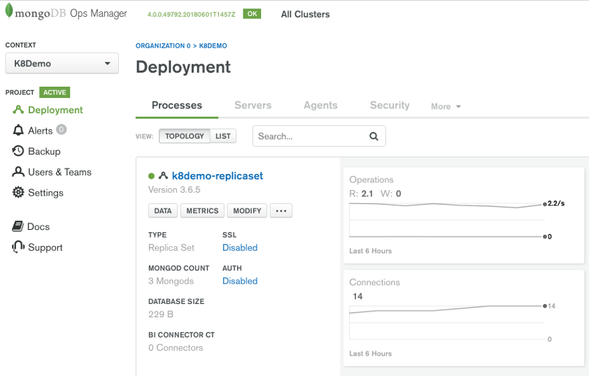 Introducing the MongoDB Enterprise Operator for Kubernetes   MongoDB