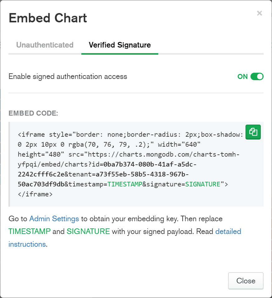 This blog post has charts and yours could too! | MongoDB Blog
