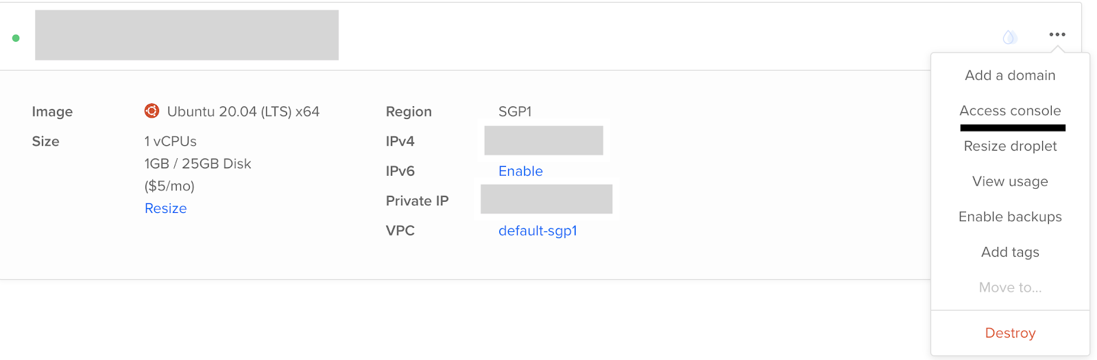 Installing MongoDB on DigitalOcean through the Droplet Console