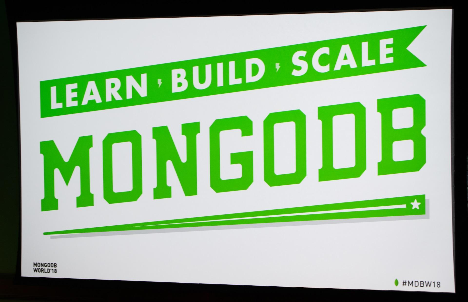MongoDB 2018