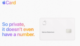 Apple Credit Card Advertisement